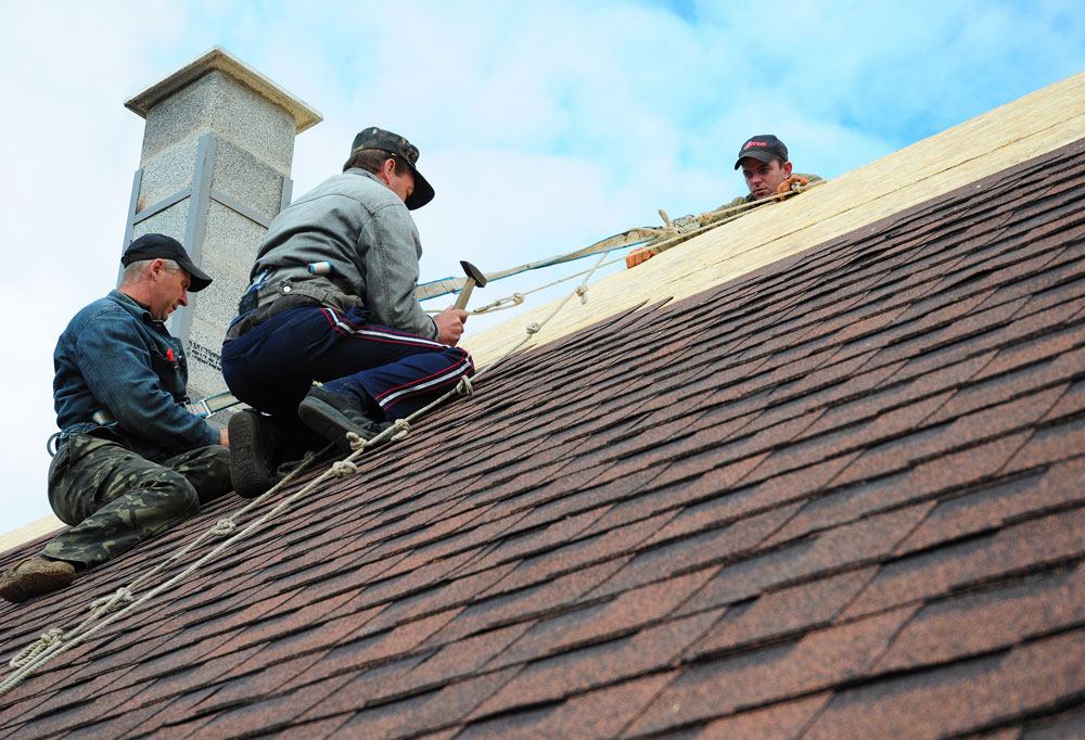 All the major roofing materials at your fingertips